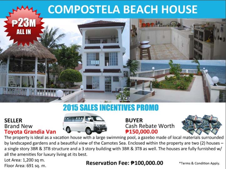 Property For Sale - Compostela Beach House