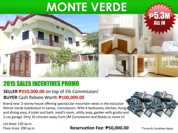 4 bedroom houses for sale - Monte Verde
