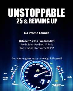 Avida Q4 Promo Launch
