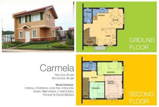 House and Lot For Sale -Camella Montserrat - Carmela with C&B