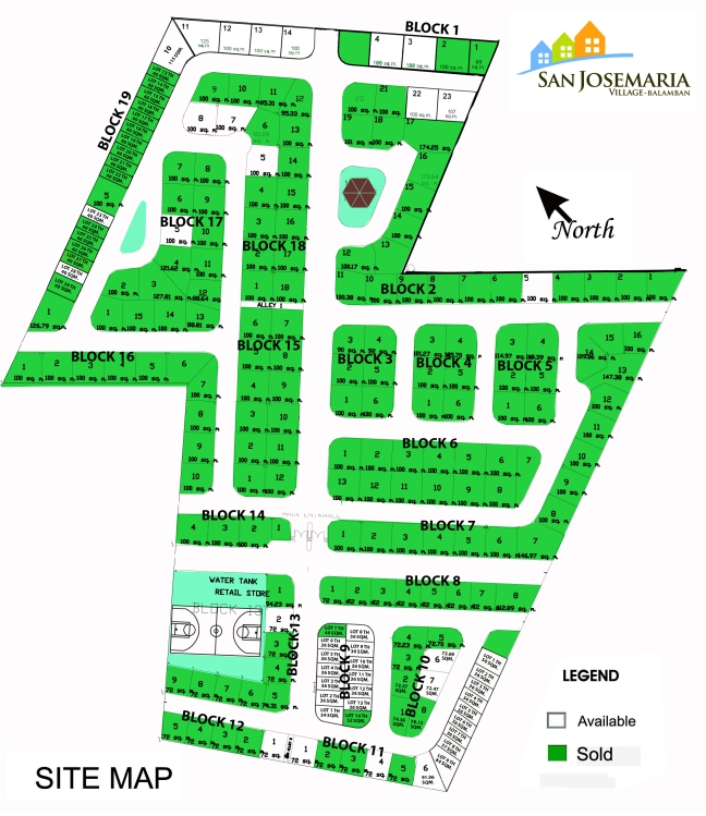 San Josemaria Village - Balamban - Site - Map