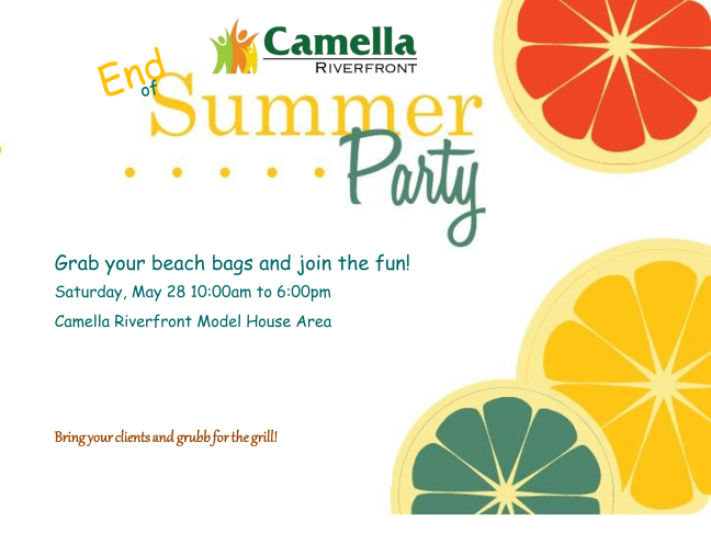 Camella Riverfront - End Summer Party