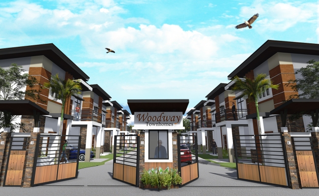 Woodway Townhomes - Gate