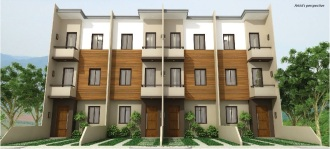 Mulberry Drive in San Jose Talamban Cebu Philippines - 3-Storey-Townhouses